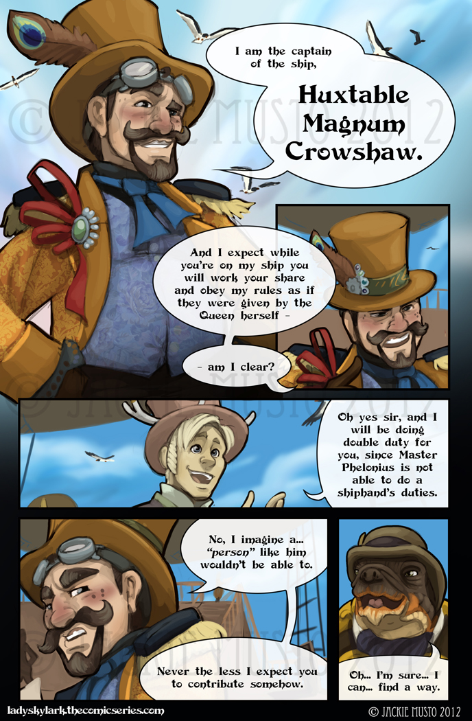 Lady Skylark and the Queen's Treasure - Page 33