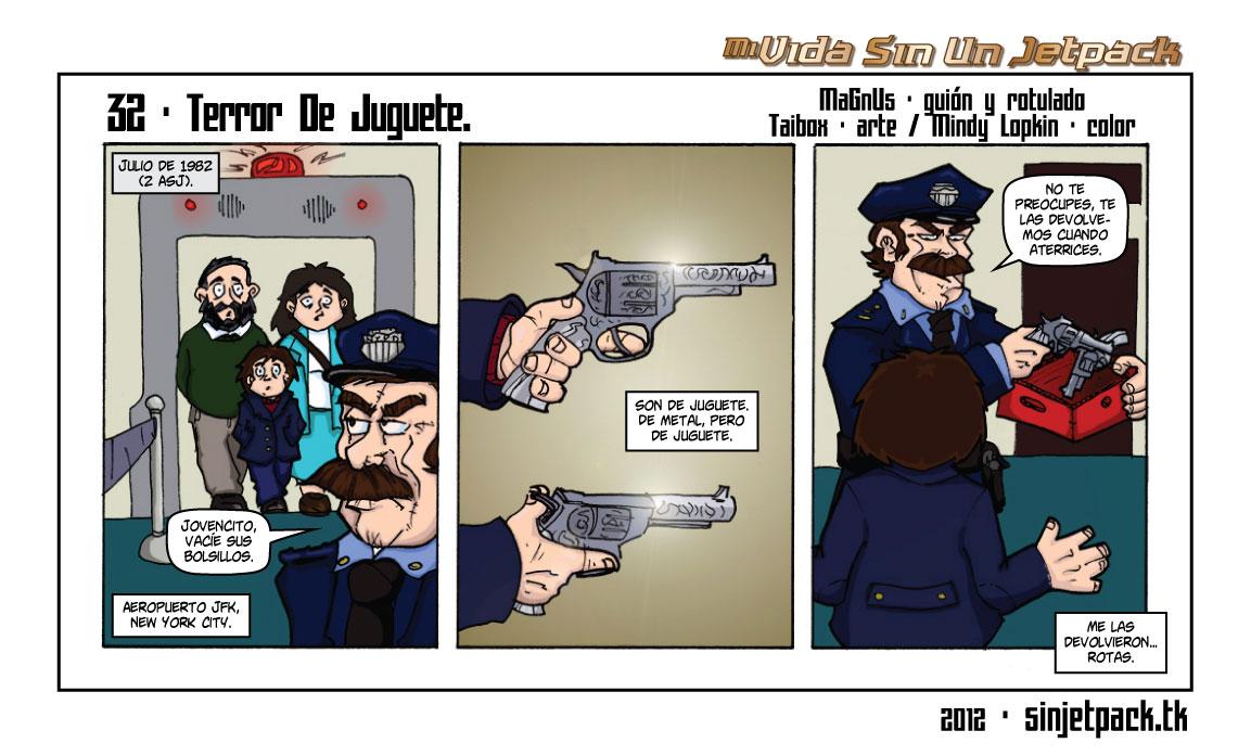 32 - Terror De Juguete.