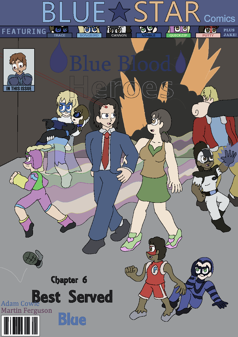 Best Served Blue, Cover