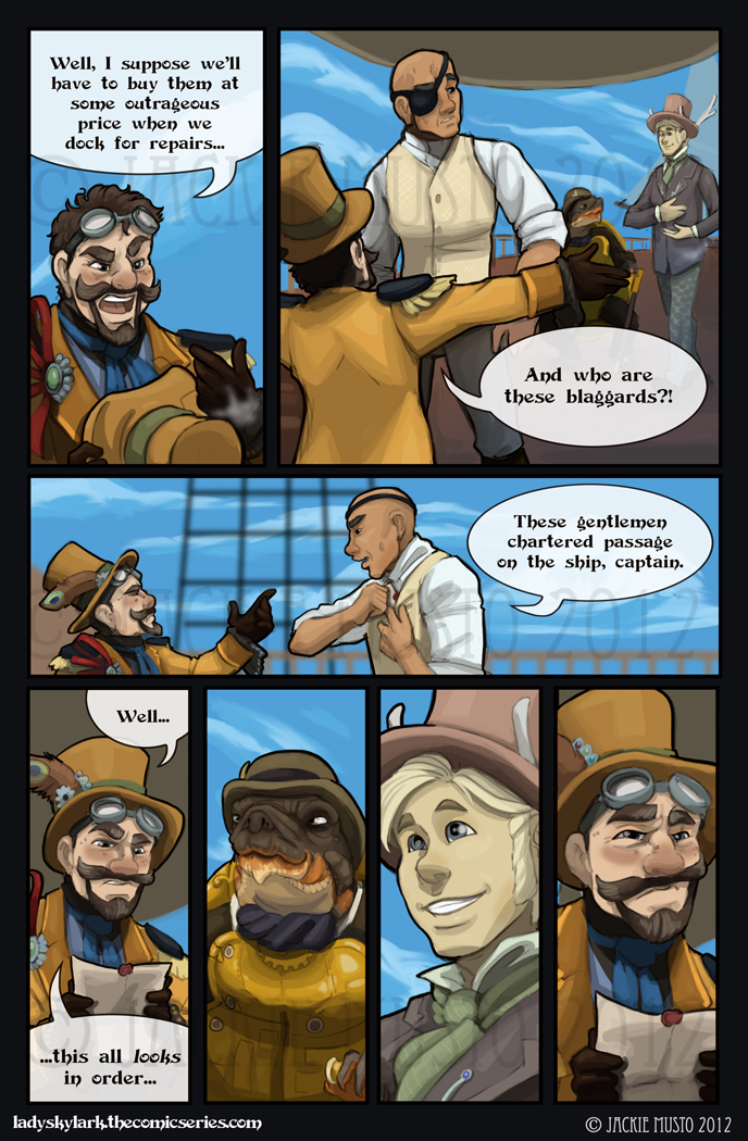 Lady Skylark and the Queen's Treasure - Page 32