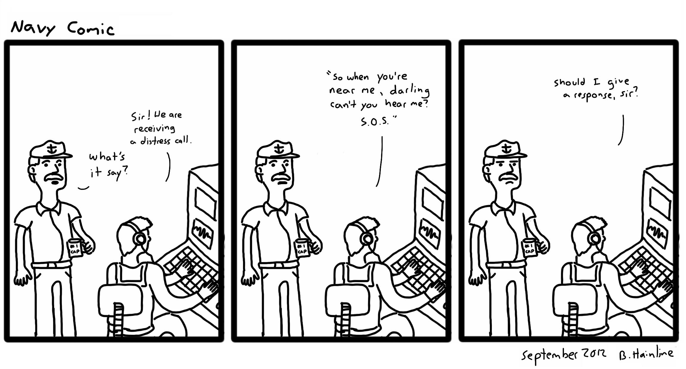 Navy Comic