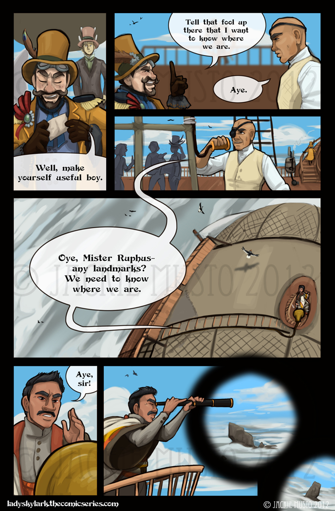 Lady Skylark and the Queen's Treasure - Page 34