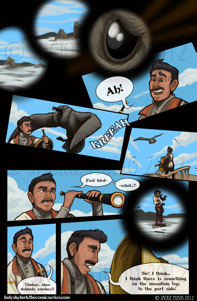 Lady Skylark and the Queen's Treasure - Page 35