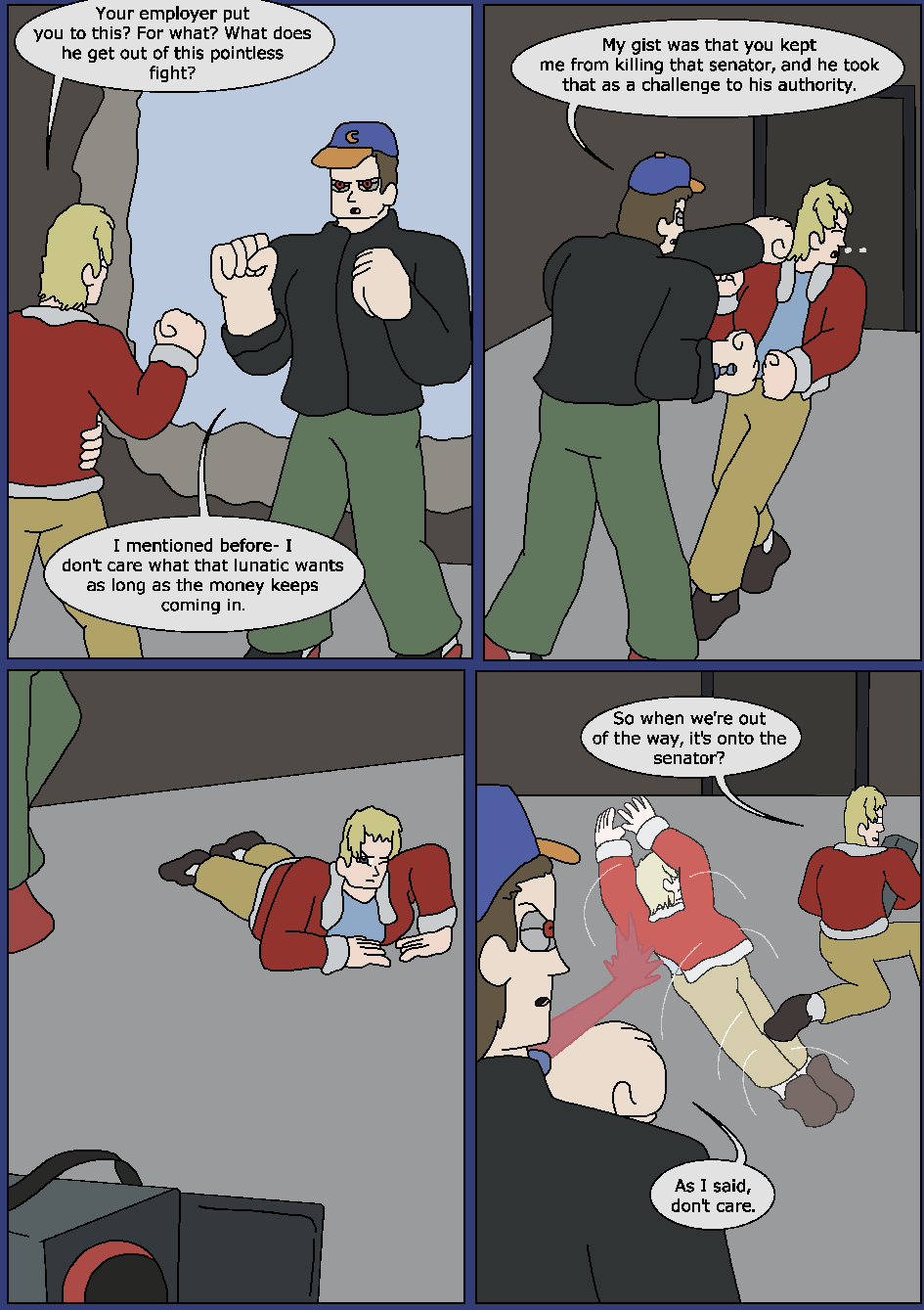 Best Served Blue, Page 23