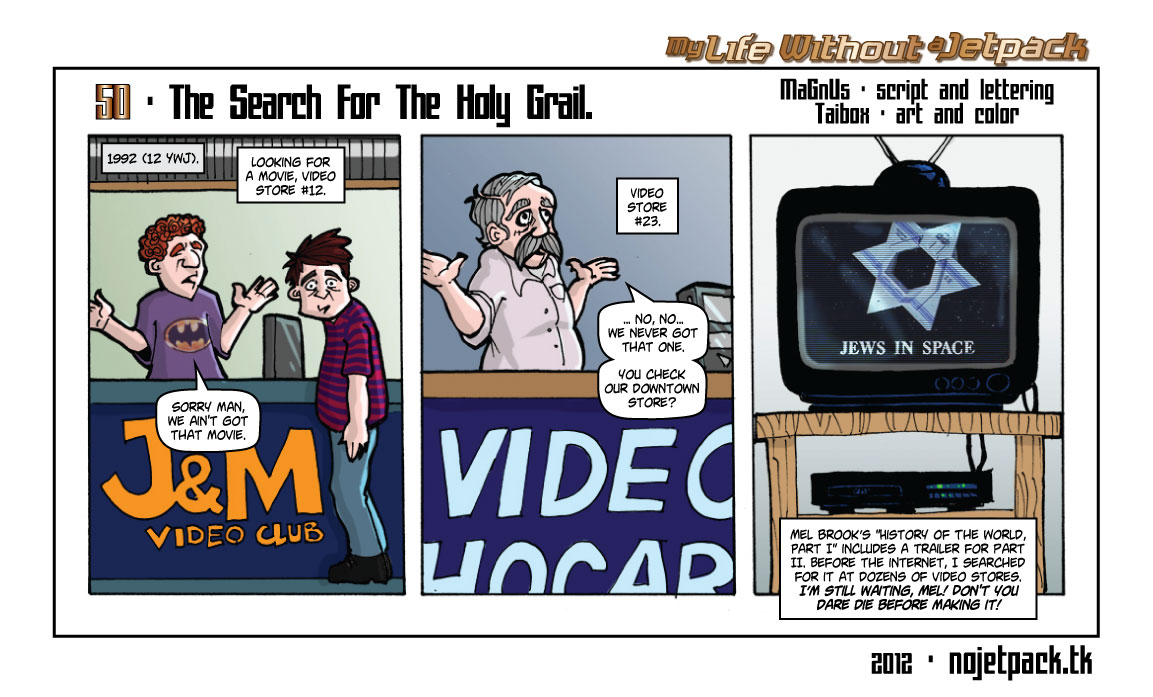50 - The Search For The Holy Grail.