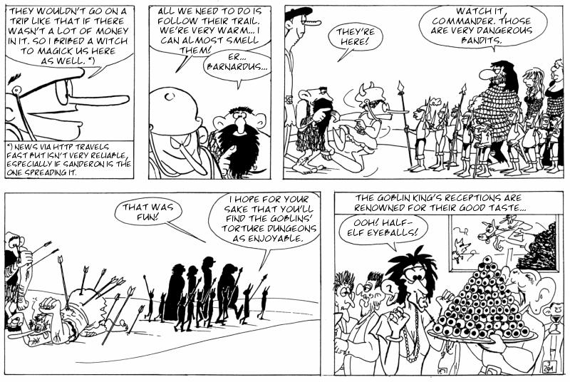 The Goblin King's tasteful parties