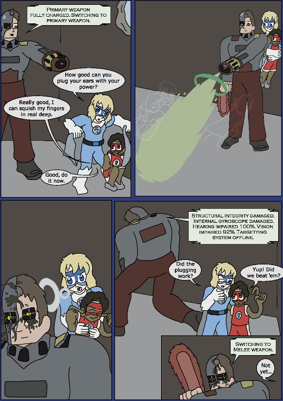Best Served Blue, Page 22