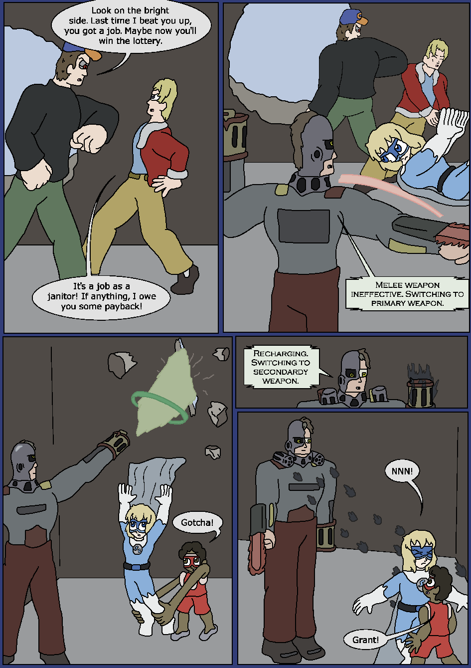 Best Served Blue, Page 19