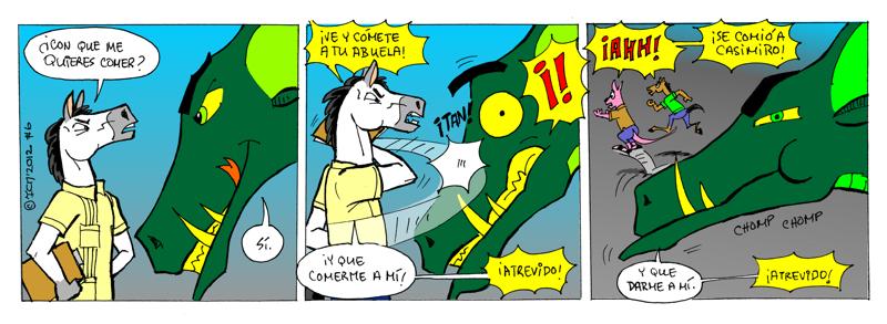 El monstruo de la piscina #6