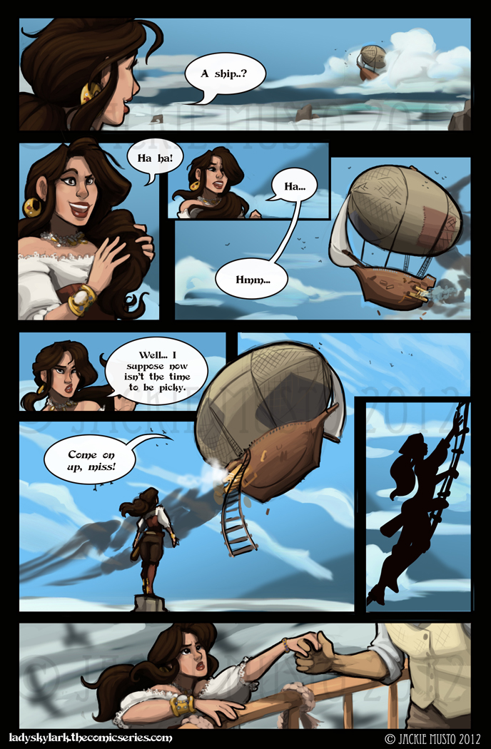 Lady Skylark and the Queen's Treasure - Page 40