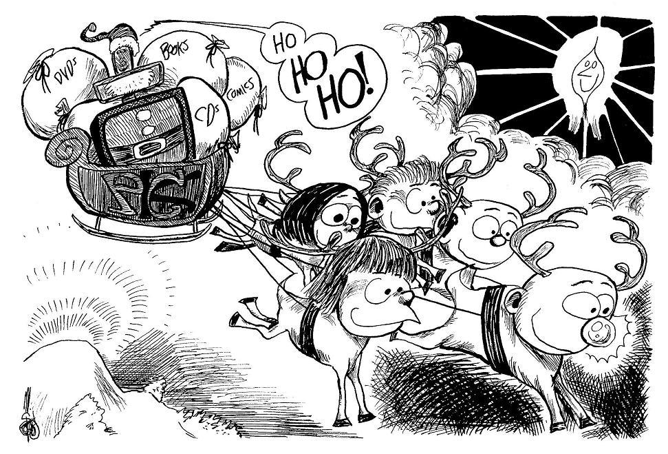 A PCK Christmas (courtesy of Surrelia)