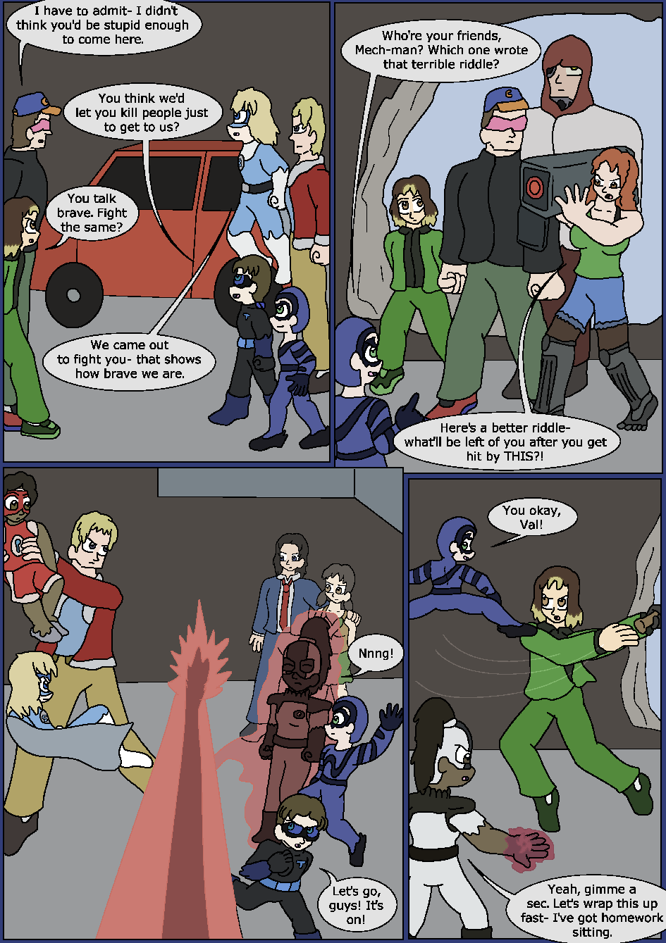 Best Served Blue, Page 14