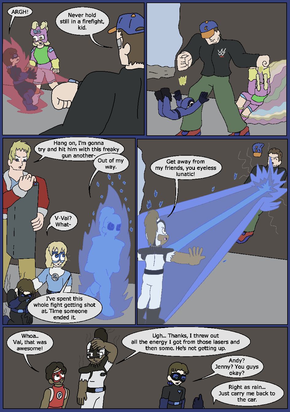 Best Served Blue, Page 30