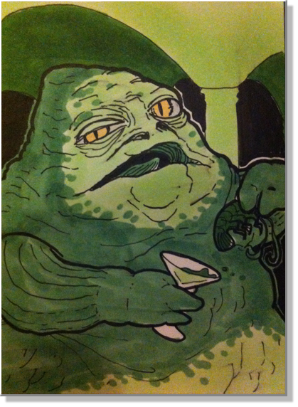 Monster Card: Jabba Desilijic Tiure