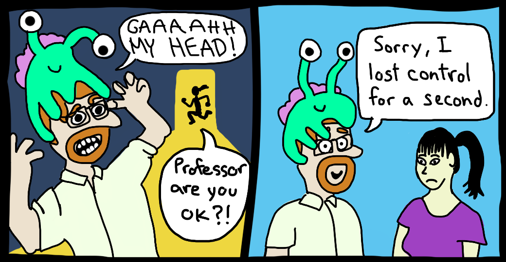 Introducing Professor Alien