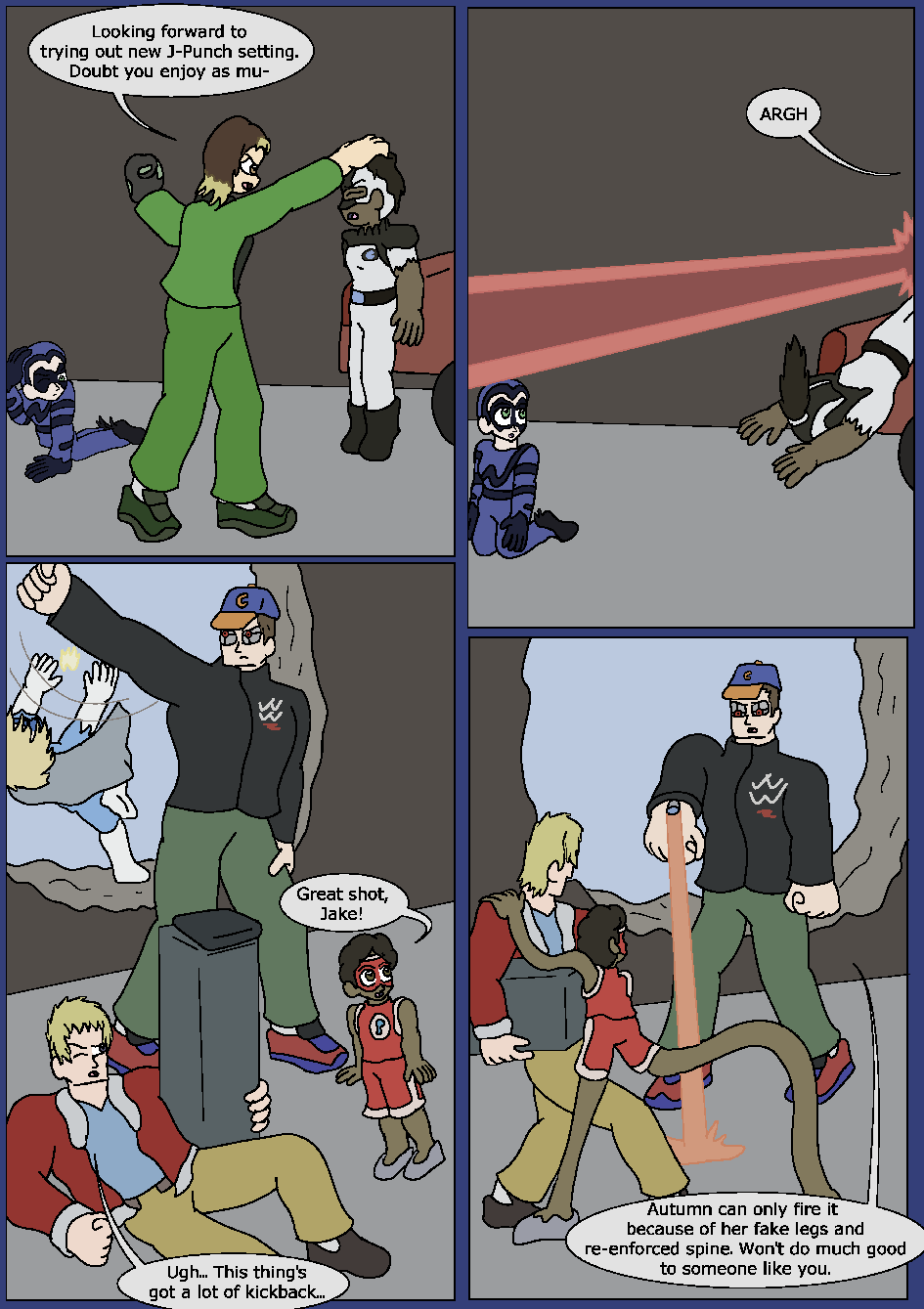 Best Served Blue, Page 28