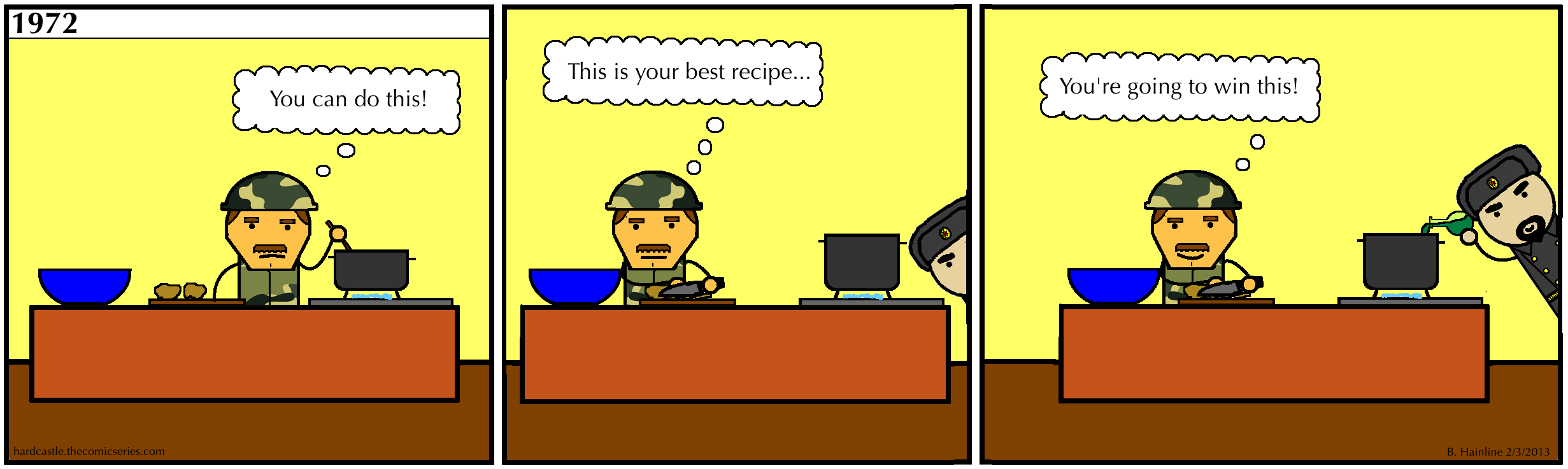 The Cold War Cook Off - Part Three
