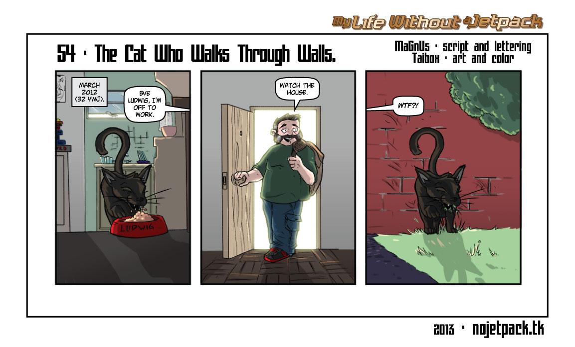 54 - The Cat Who Walks Through Walls.