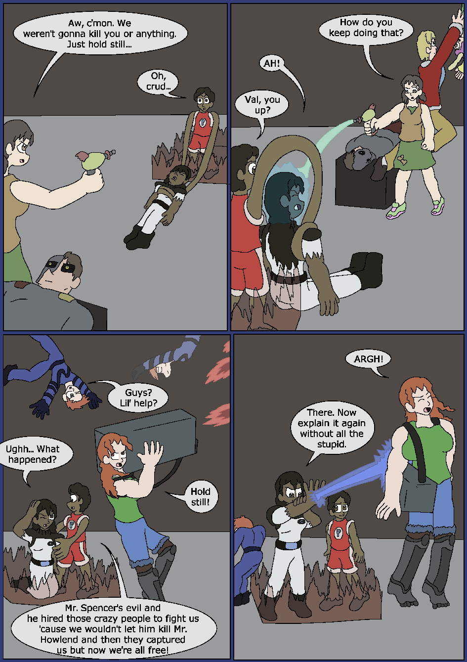 Best Served Blue, Page 41