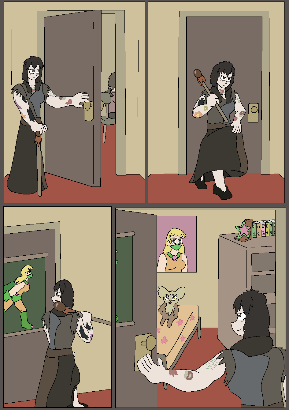 Skeletons in the Closet, Page 16