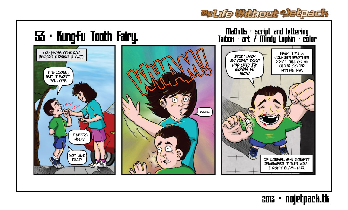 53 - Kung-Fu Tooth Fairy.