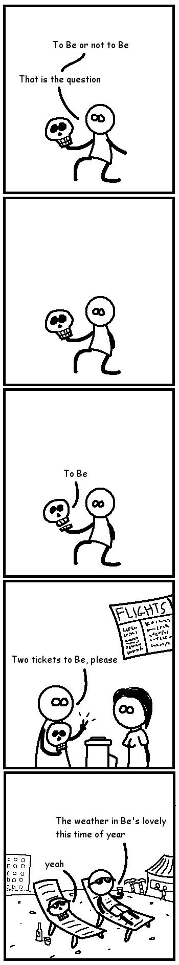 Shakespearean comic