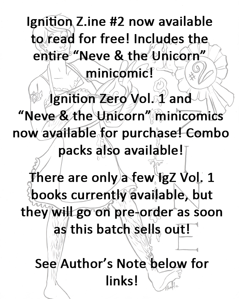 "NEW: IGZ SHOP + ""Neve & the Unicorn"" available to read and purchase!"