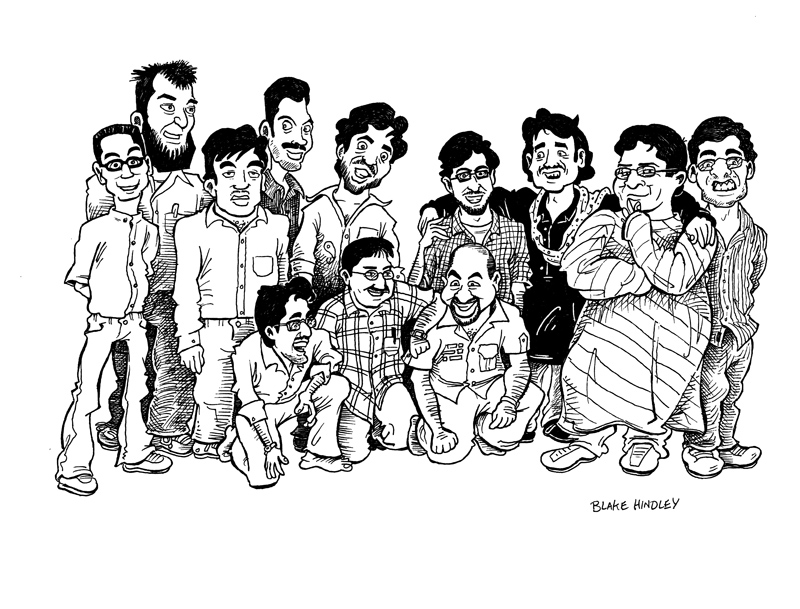 Group Cartoon 2