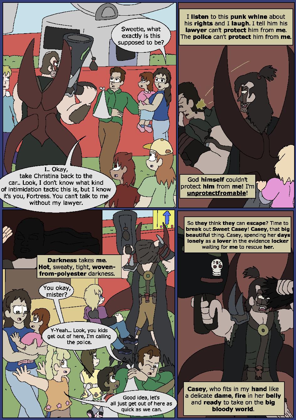 Darker Blue, Page 13
