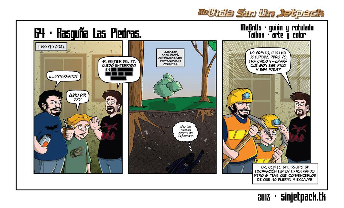 64 - Rasguña Las Piedras.