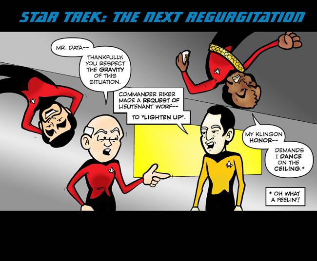 Star Trek: The Next Regurgitation 1