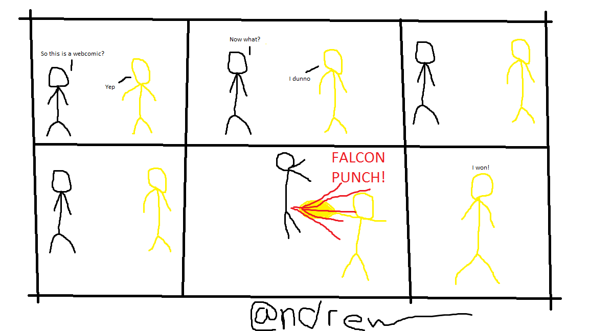 Comic #1 By:Andrew