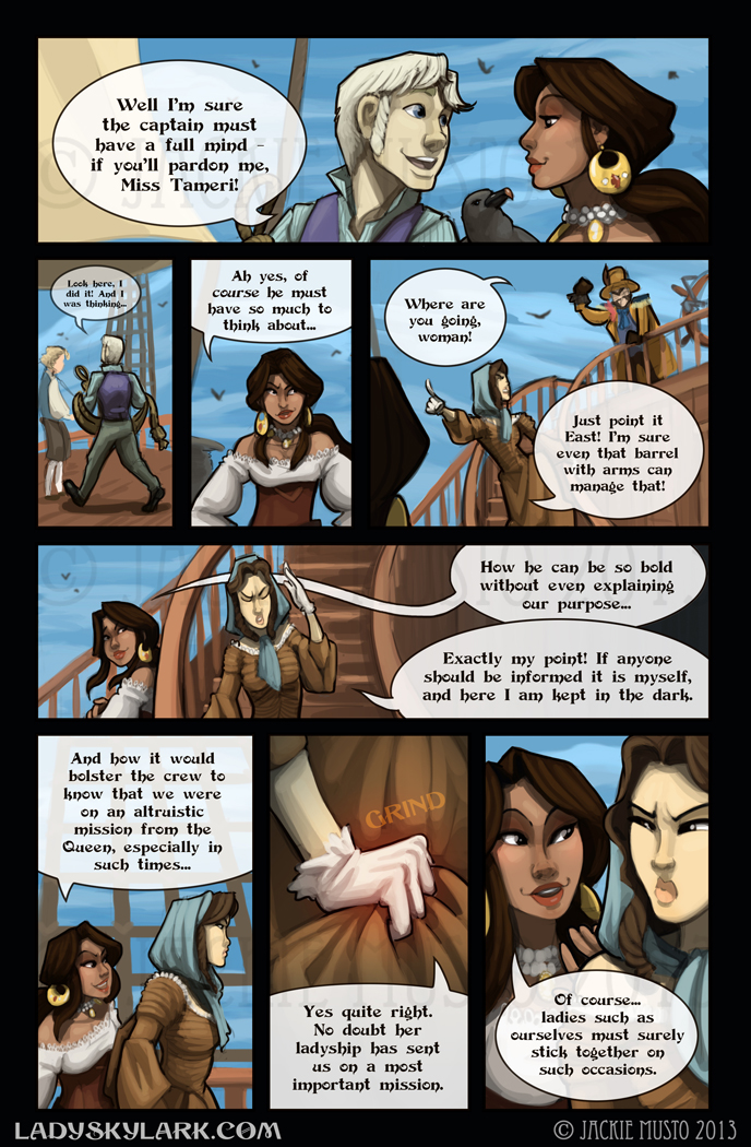 Lady Skylark and the Queen's Treasure - Page 61