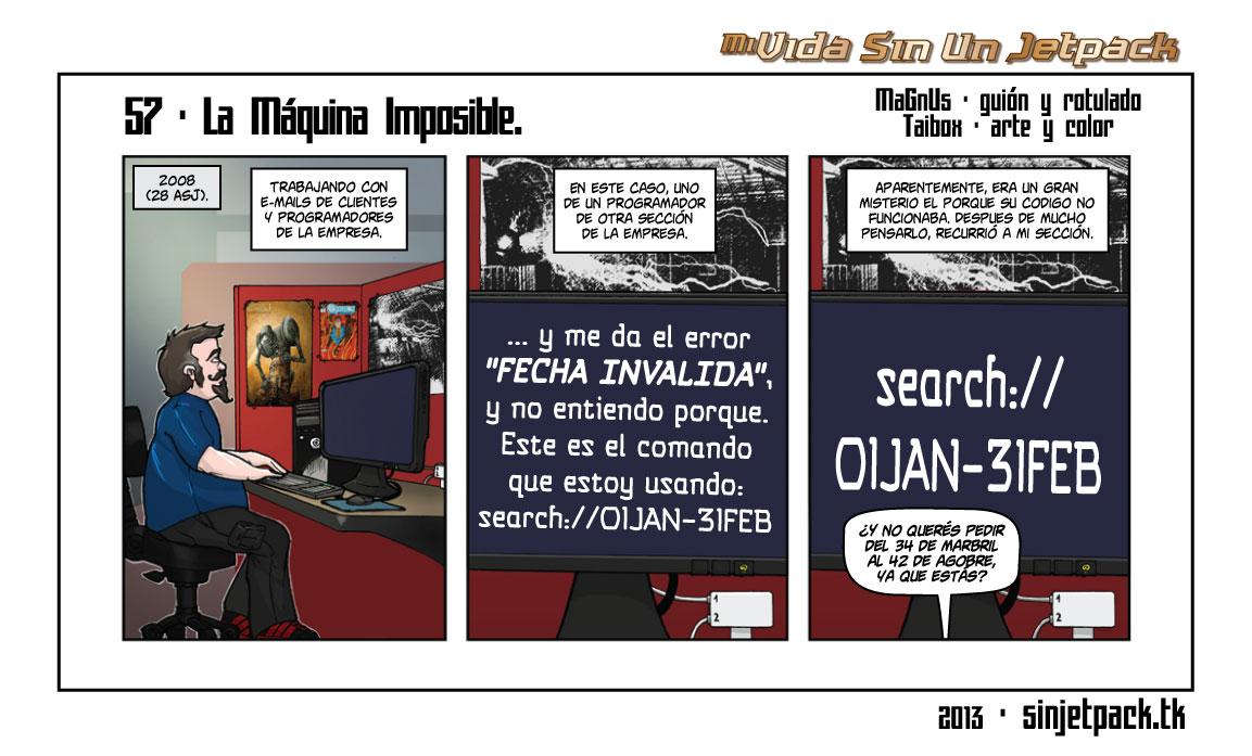 57 - La Máquina Imposible.