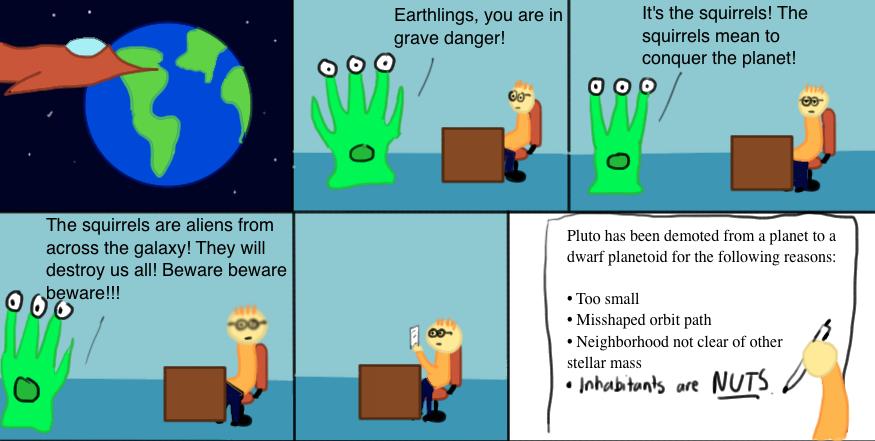We Must Warn Earth!