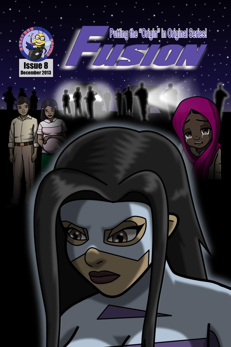 Fusion #8 Cover