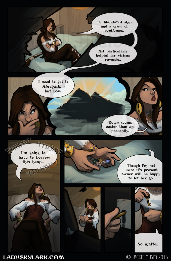 Lady Skylark and the Queen's Treasure - Page 48