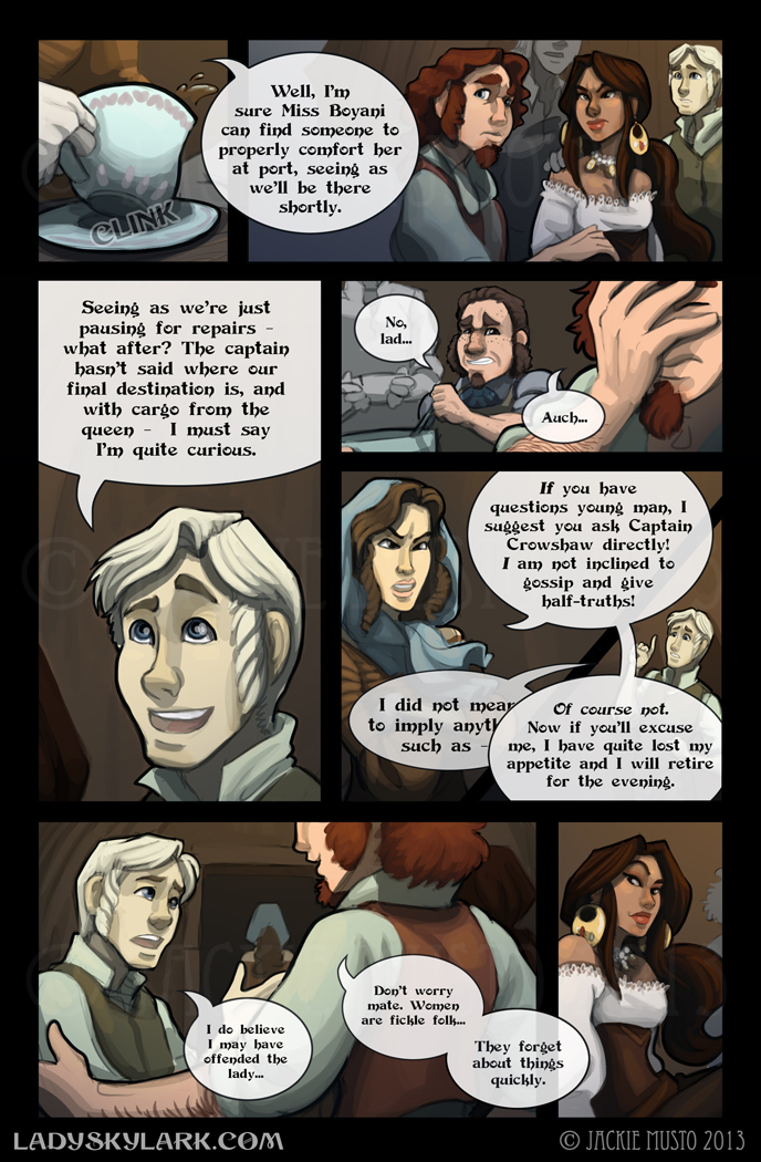 Lady Skylark and the Queen's Treasure - Page 58