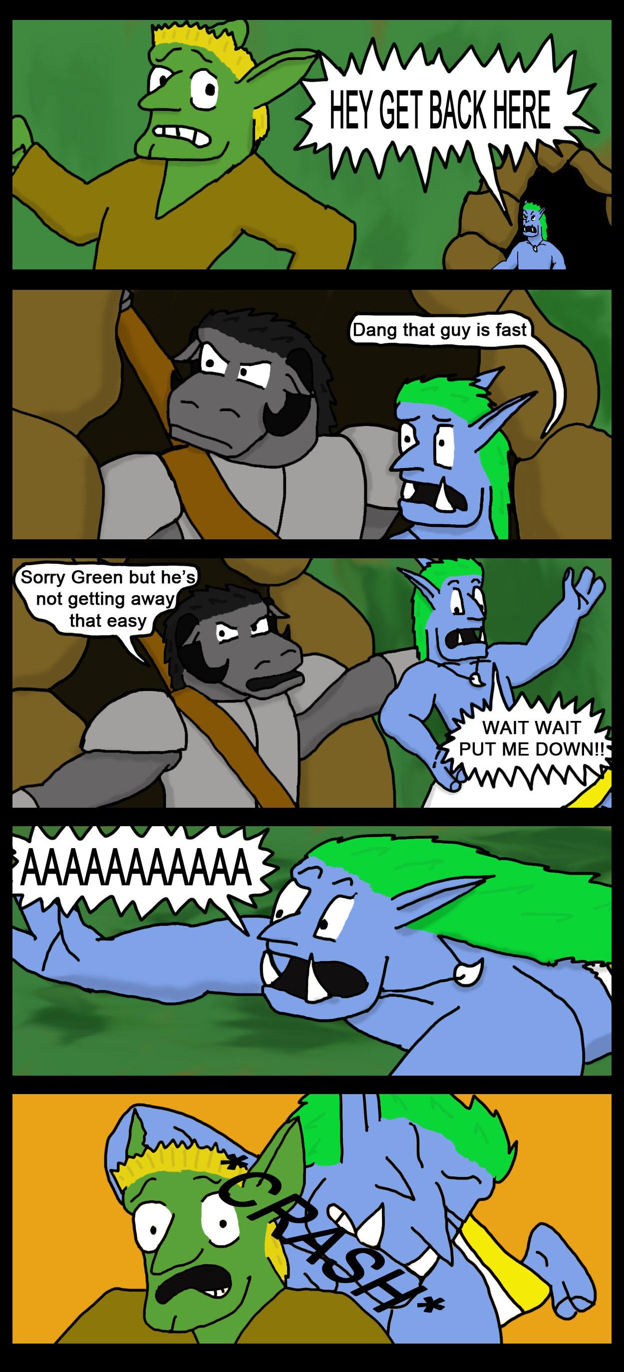 don't toss the troll