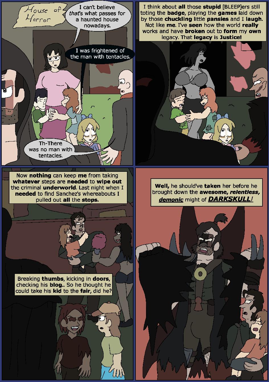 Darker Blue, Page 9