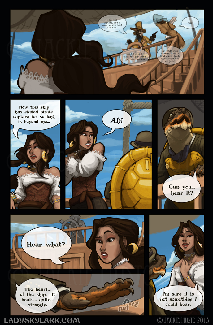Lady Skylark and the Queen's Treasure - Page 52