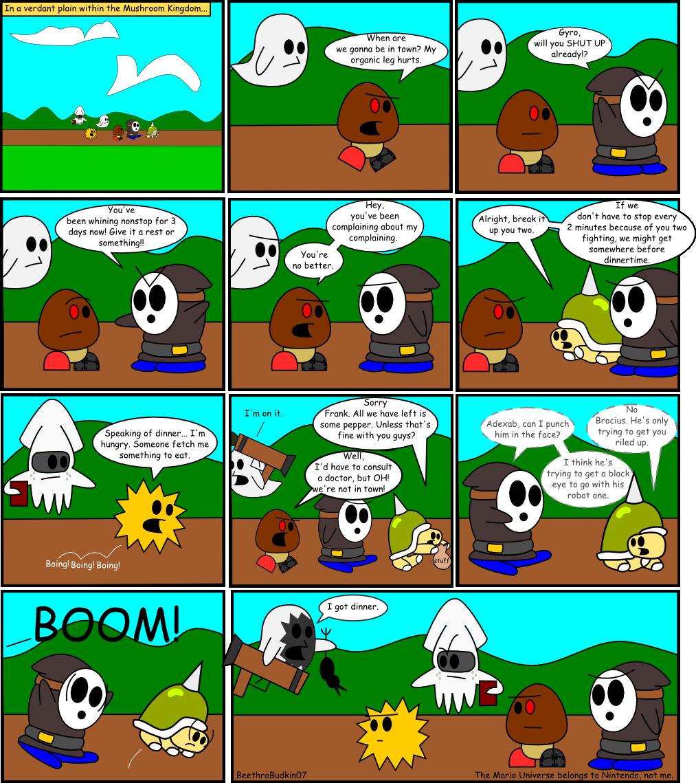 Page 1: The Medias Res Adventure Begins