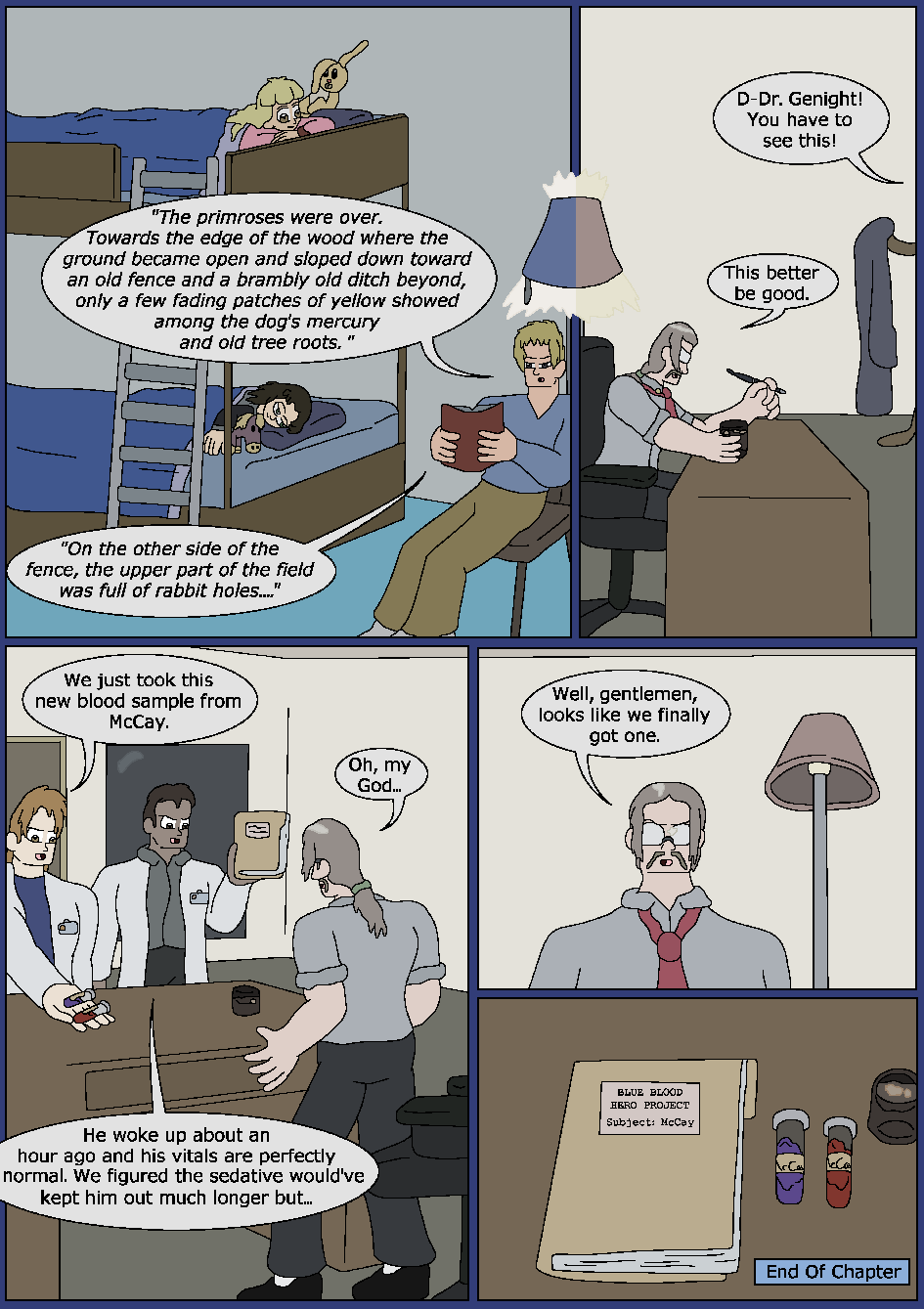 Best Served Blue, Page 49