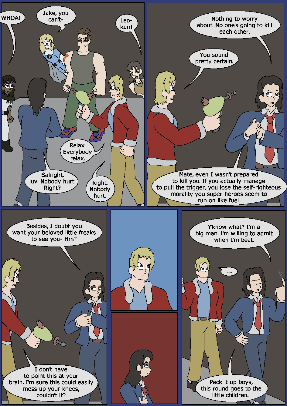 Best Served Blue, Page 43