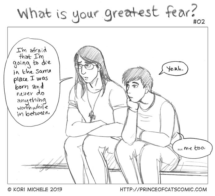 "Sketch Interlude: ""Greatest Fear"" 2/3"