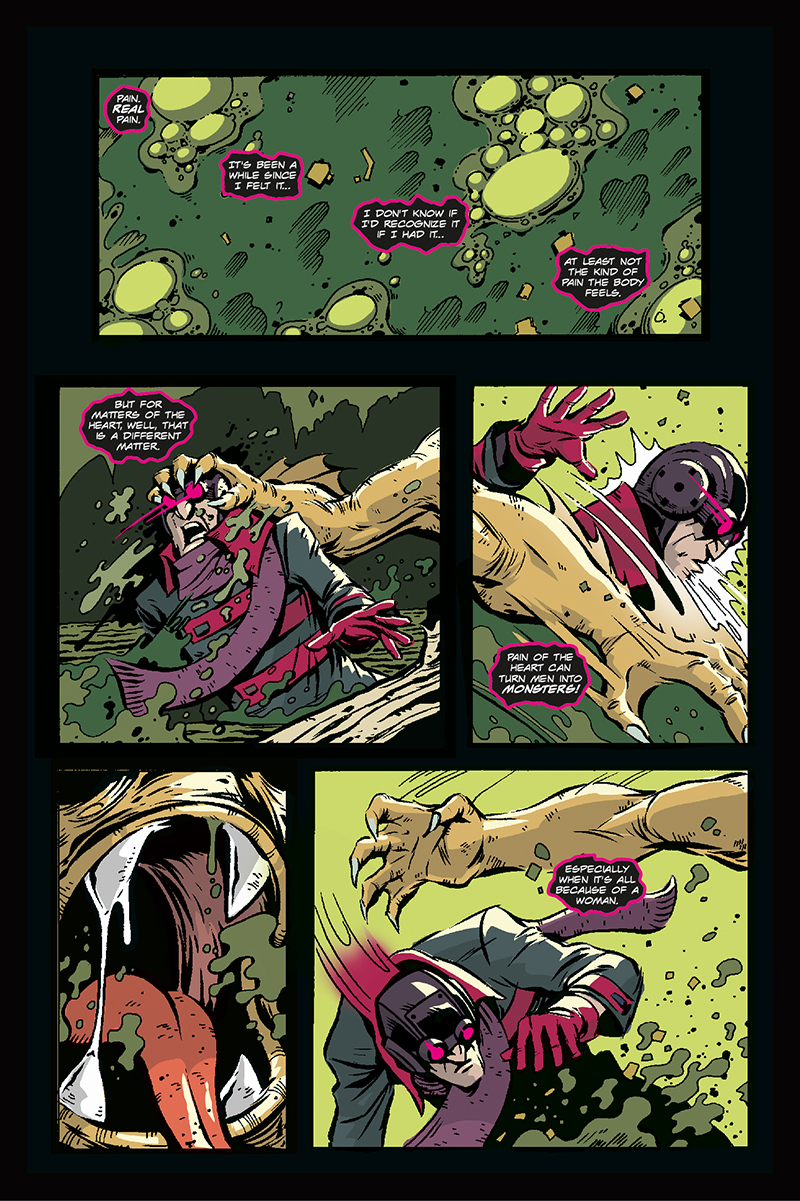 The Monster of Magnolia Marshes | Page 1