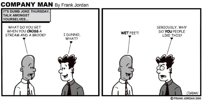 A Company Man Dumb Joke Thursday Classic 10/24/13