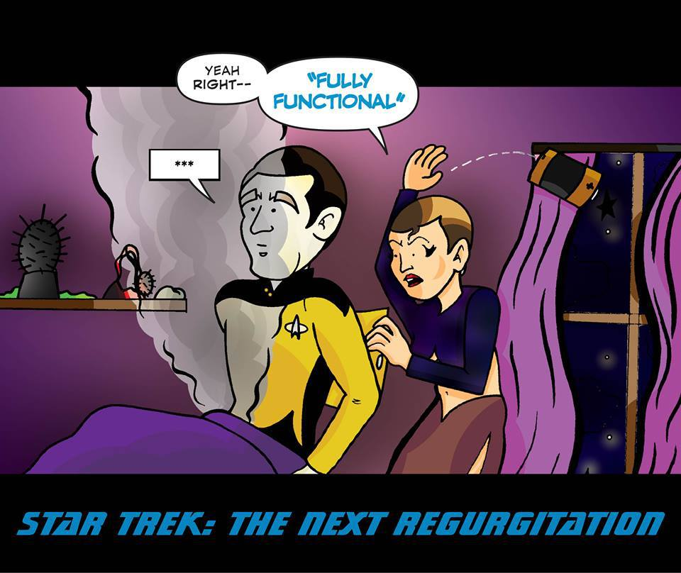 Star Trek: The Next Regurgitation 2
