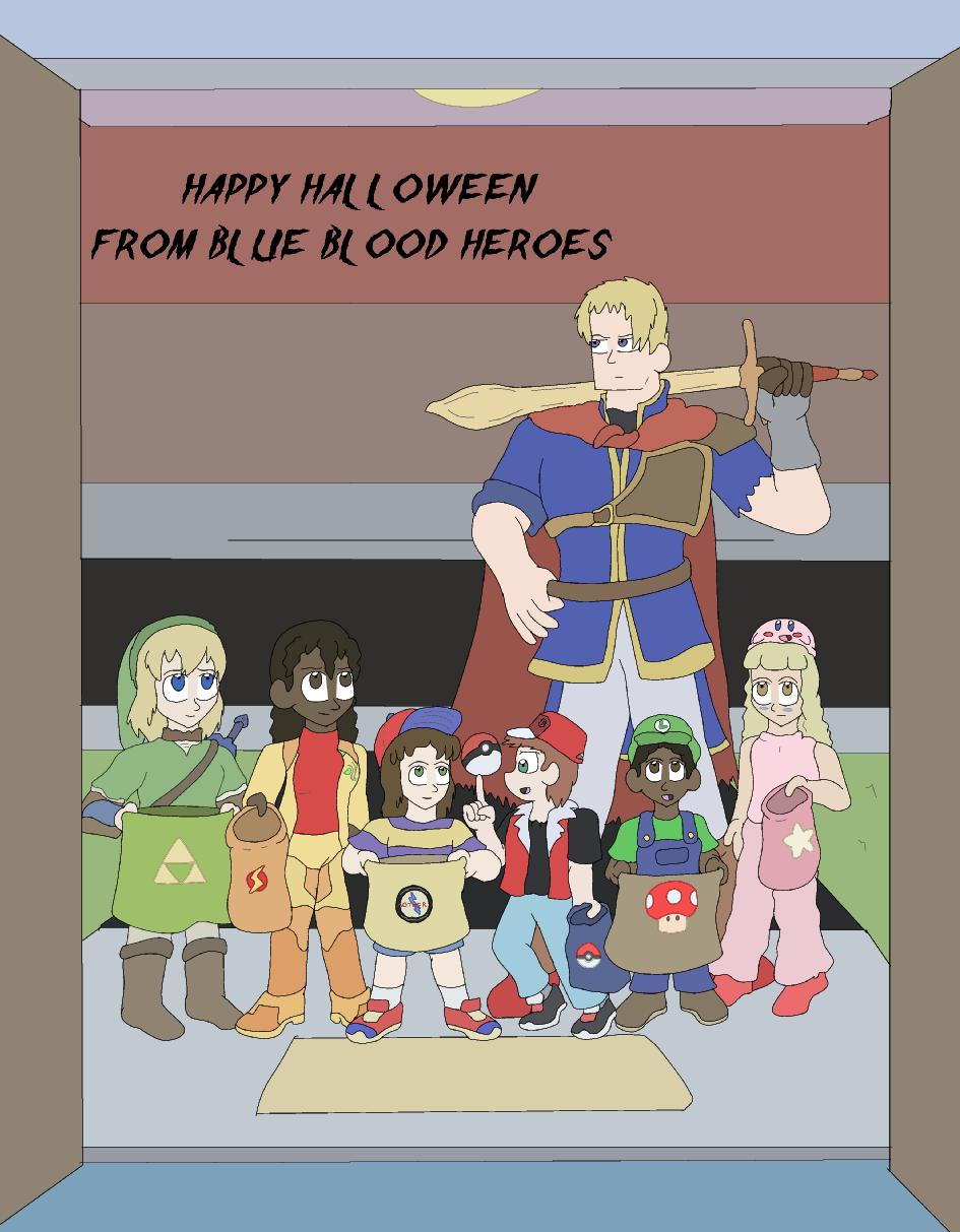 Happy Halloween, 2013! - Super Smash Bros.
