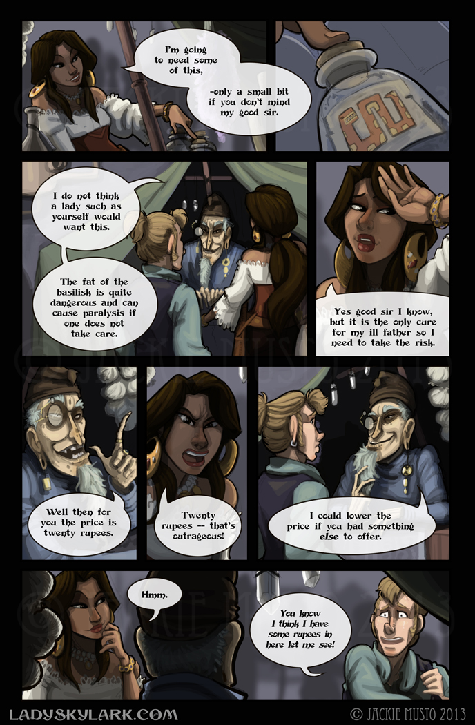 Lady Skylark and the Queen's Treasure - Page 76